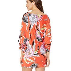 Trina Turk Dresses - Tina Turk Shangri-La floral dress/cover up- small